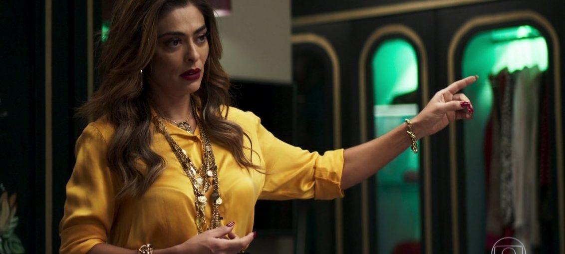 Maria da Paz (Juliana Paes) em A Dona do Pedaço (Reprodução / TV Globo)