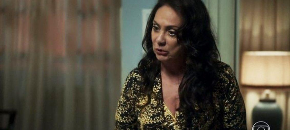 Rania (Eliane Giardini) em Órfãos da Terra (Reprodução / TV Globo)