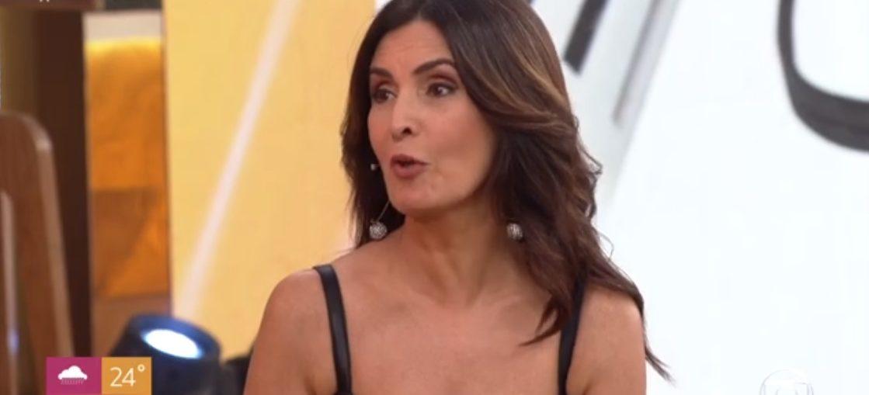 A apresentadora Fátima Bernardes durante o Encontro (Reprodução/GloboPlay)