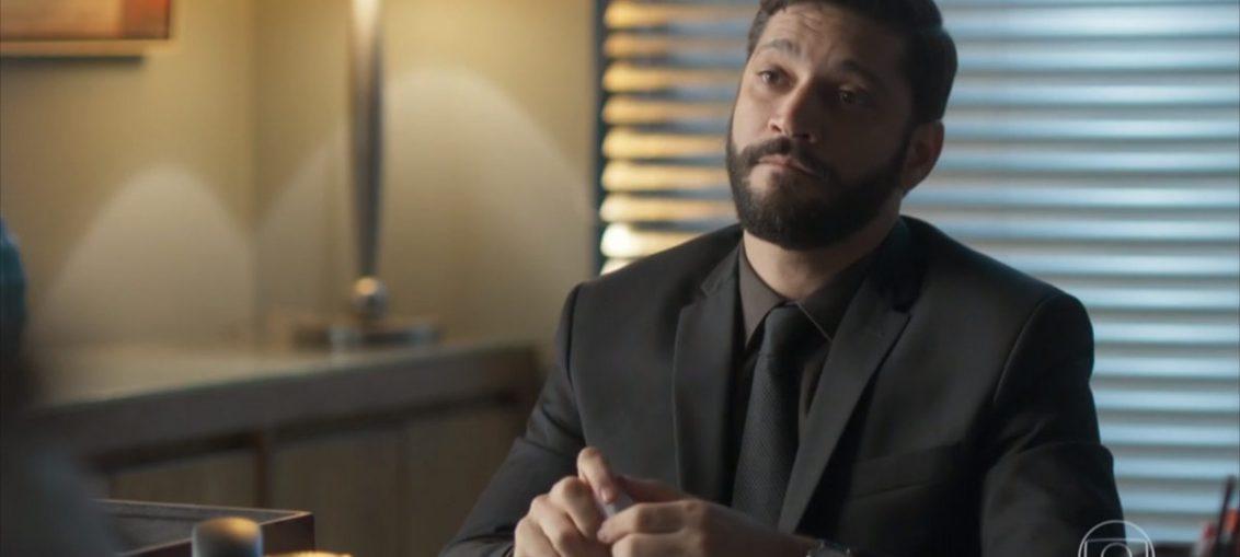 Diogo (Armando Babaioff) em Bom Sucesso (Reprodução / TV Globo)