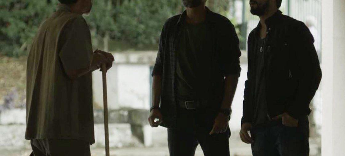 Jamil (Renato Góes) e Hussein (Bruno Cabrerizo) em Órfãos da Terra (Divulgação / TV Globo)