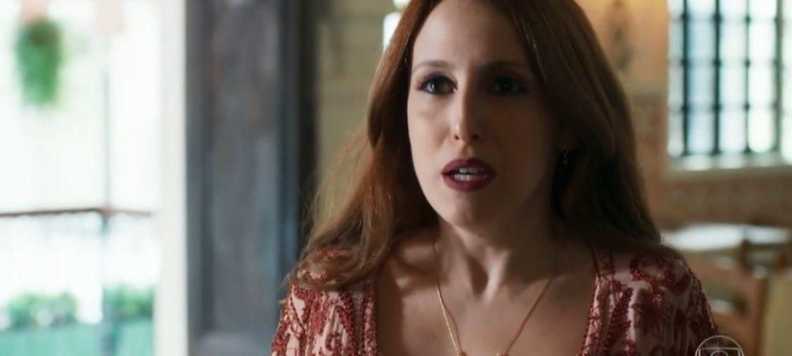 Latifa (Luana Martau) em Órfãos da Terra (Reprodução / TV Globo)