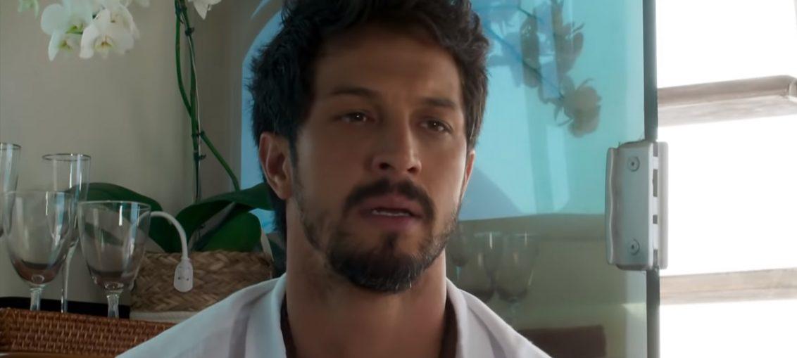 Marcos (Rômulo Estrela) em Bom Sucesso (Reprodução / TV Globo)