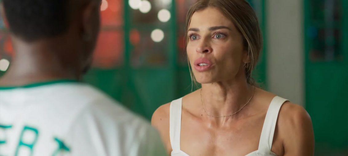 Ramon (David Junior) e Paloma (Grazi Massafera) em Bom Sucesso (Reprodução / TV Globo)