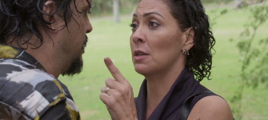 Nana (Fabiula Nascimento) e Mario (Lucio Mauro Filho) em Bom Sucesso (Divulgação / TV Globo)