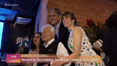 Natasha Dantas apareceu no Encontro com Fátima Bernardes (Reprodução/GloboPlay)