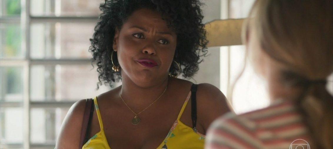 Lulu (Carla Cristina Cardoso) em Bom Sucesso (Reprodução / TV Globo)