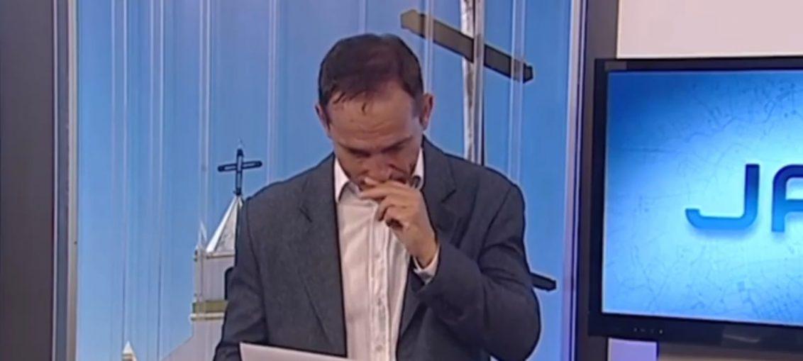 O apresentador Alaor Rodovalho (Reprodução/TV Globo)