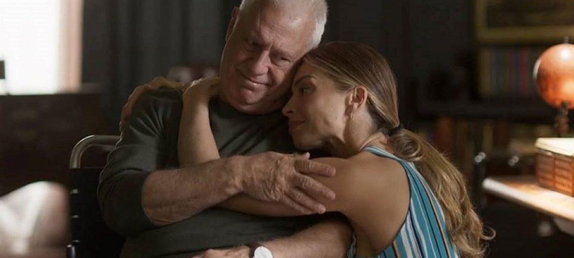 Alberto (Antônio Fagundes) e Paloma (Grazi Massafera) em Bom Sucesso (Reprodução / TV Globo)
