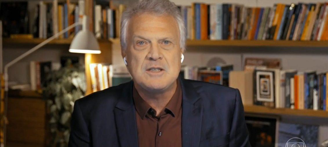 Pedro Bial no Conversa com Bial, da Globo (Reprodução/GloboPlay)