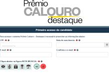 premio calouro destaque inscrição