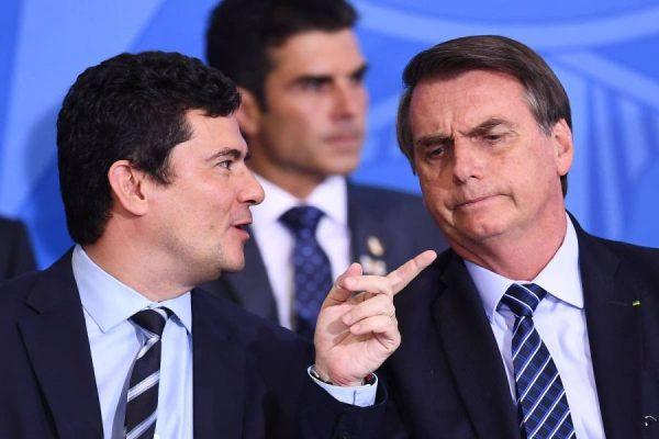 Moro diz que não serve mestre e que Bolsonaro não se compromete contra corrupção