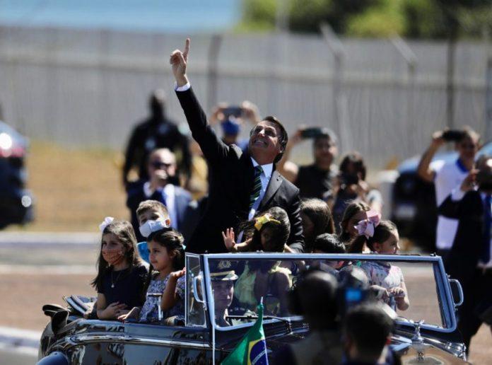 Jair Bolsonaro no 7 de setembro 2020