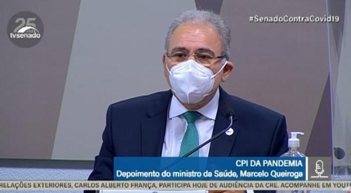 Marcelo Queiroga CPI da Pandemia