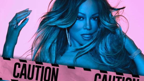 """""""Caution"""" de Mariah Carey supera os 100 milhões no Spotify"""