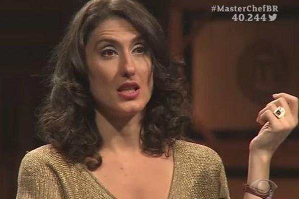 """Paola Carosella é chamada de """"vagabunda"""" e rebate hater nas redes sociais"""
