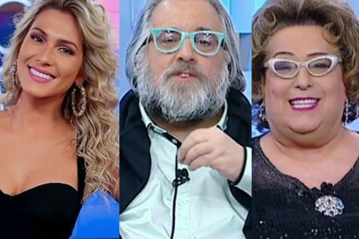 Sem projeto desde o 'Fofocalizando', SBT demite Lívia Andrade, Leão Lobo e Mama Bruschetta