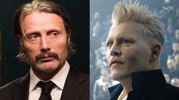 """Mads Mikkelsen afirma que não irá substituir Johnny Depp como Grindelwald em """"Animais Fantásticos 3"""""""