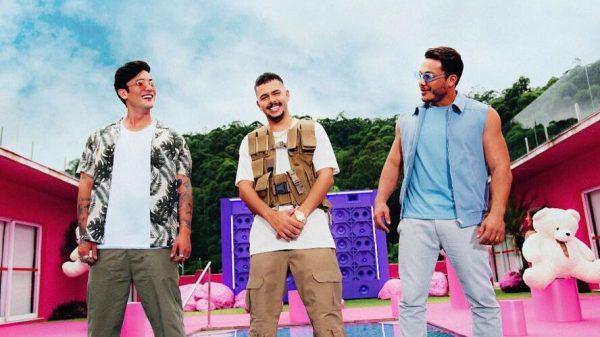 Daniel Caon, Pedro Sampaio e Wesley Safadão (Foto: Reprodução/ Instagram)