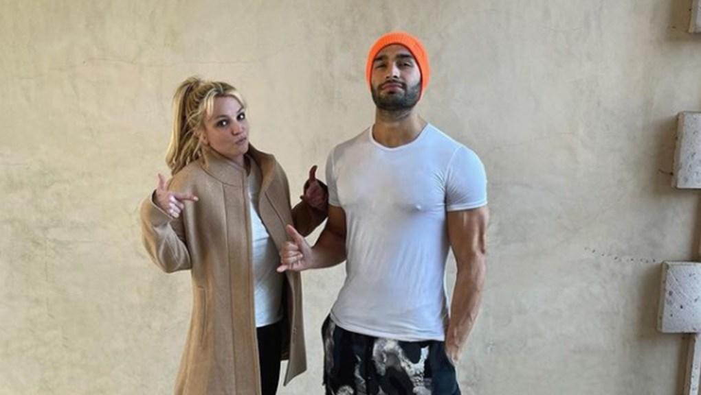 Britney Spears lançará álbum de rap com seu namorado, Sam Asghari