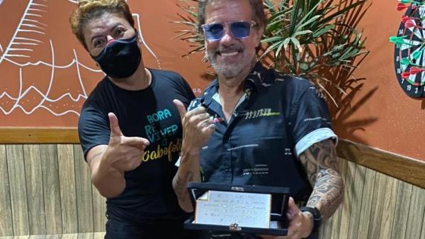 David Brazil e Tuca Fernandes (Foto: Tayana Santos)
