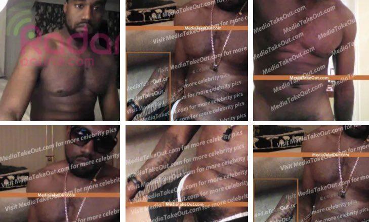 Nude Kanye West
