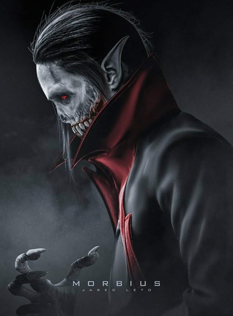 Cartaz oficial de Morbius (Foto: Divulgação)