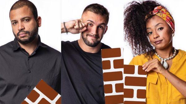 BBB21: Projota, Lumena e Arthur estão no paredão