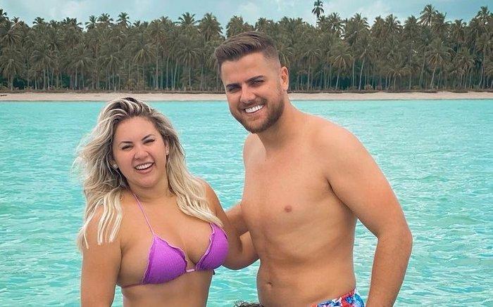 """Esposa de Zé Neto conta como foi a primeira vez do casal: """"Ele teve caganeira"""""""