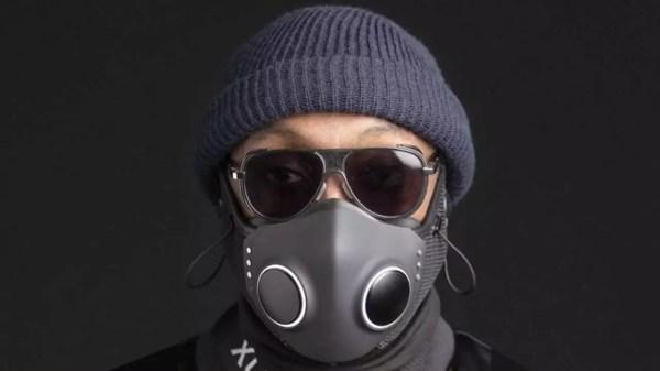 Will.i.am lança máscara futurista anti-covid - Imagem: Divulgação