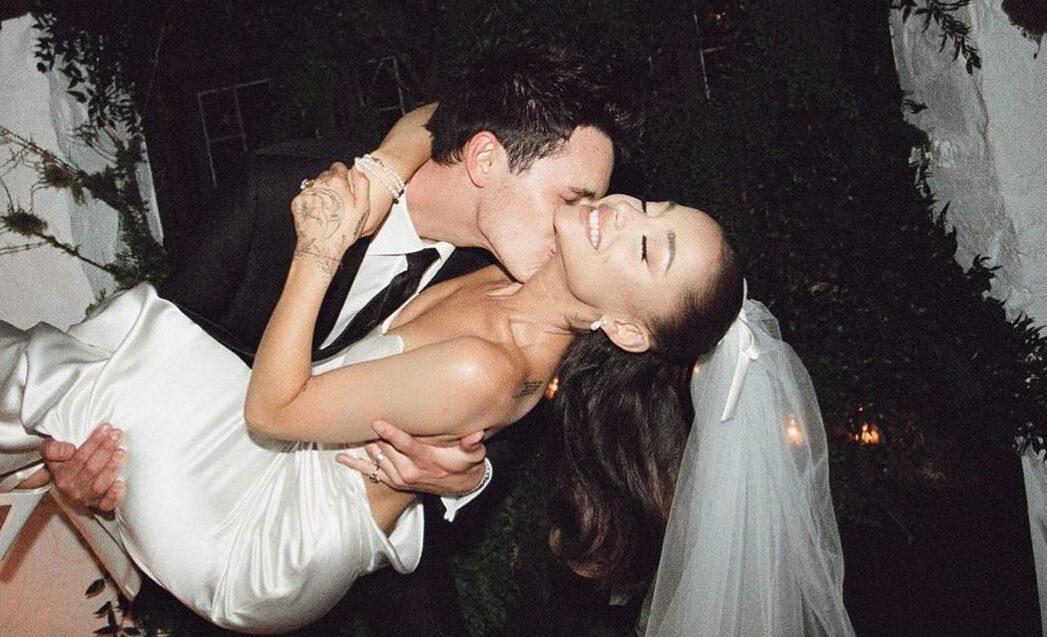 Ariana Grande libera fotos de seu casamento Dalton Gomez