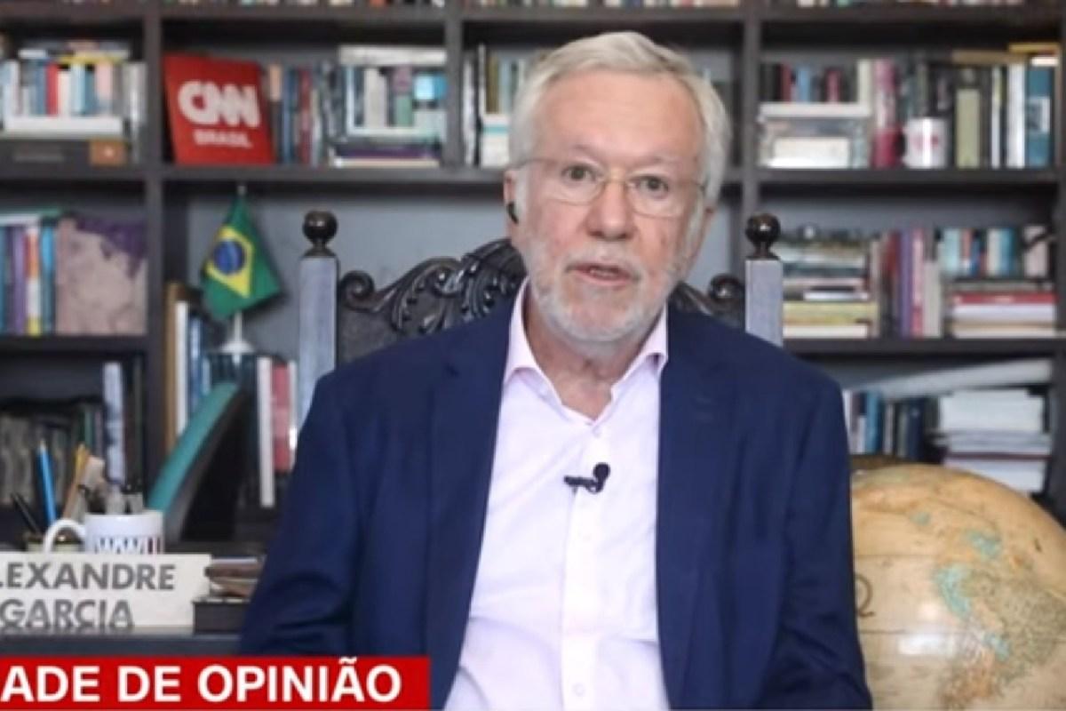 alexandre garcia ameaça deixar cnn brasil