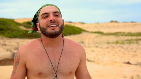 Mahmoud no 'No Limite' — Foto: Reprodução/Globo