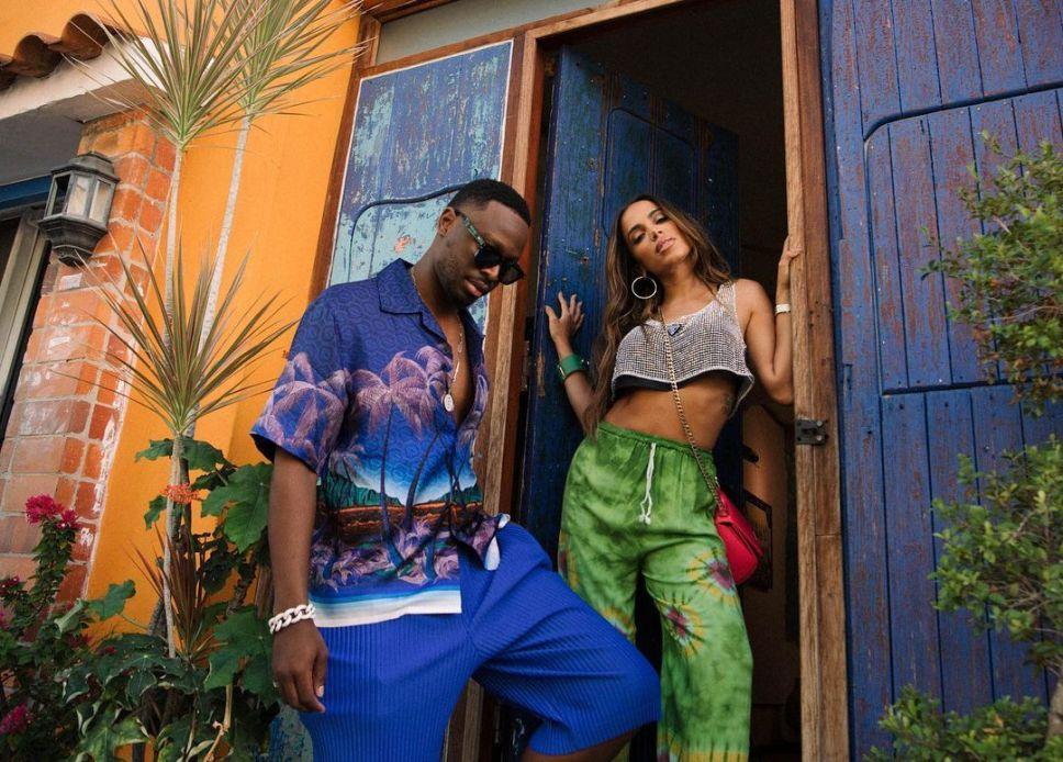 """Veja fotos do clipe de """"Mon Soleil"""", parceria entre Anitta e Dadju"""