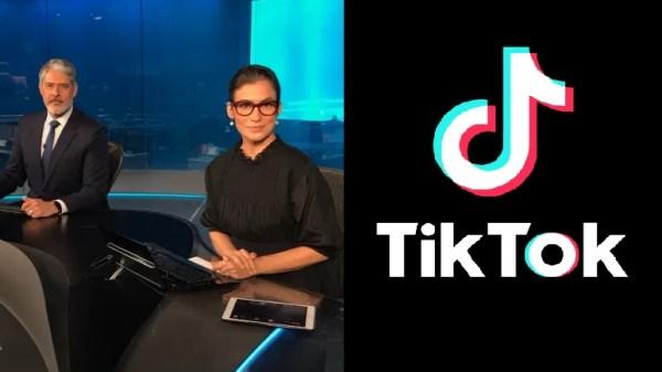 jornal nacional tiktok
