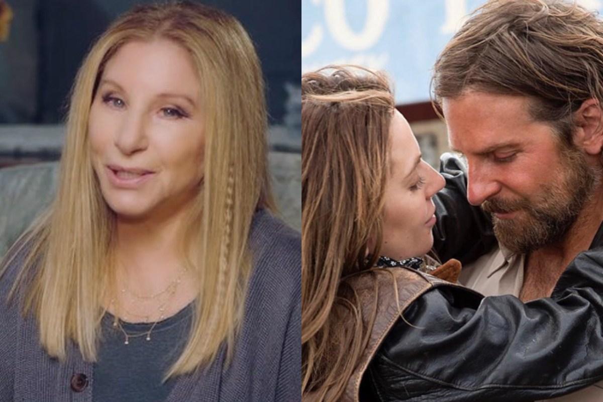 Barbra Streisand Lady gaga Bradley Cooper