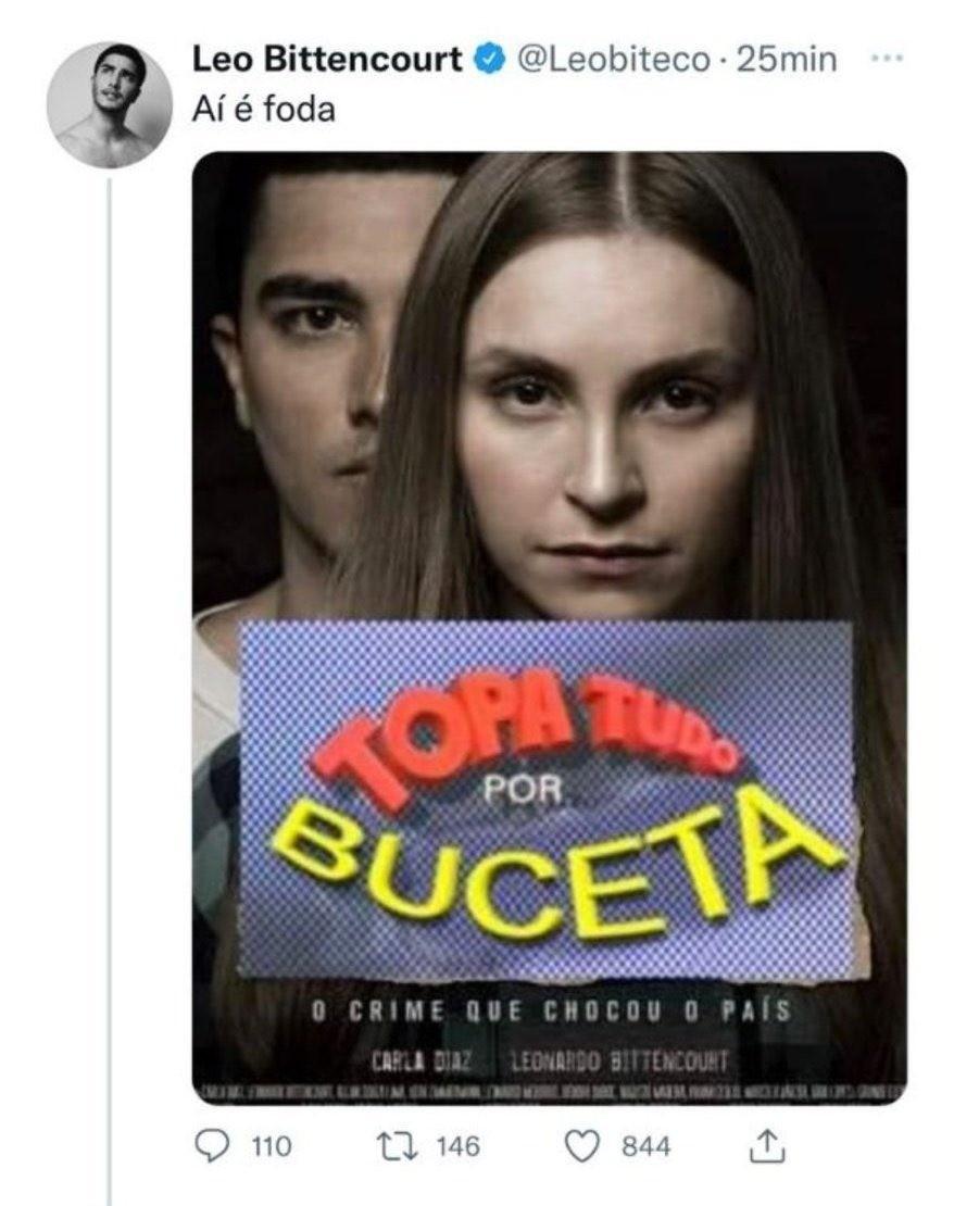 """Carla Diaz se irrita com colega de elenco de filme após piada: """"Fui desrespeitada"""""""
