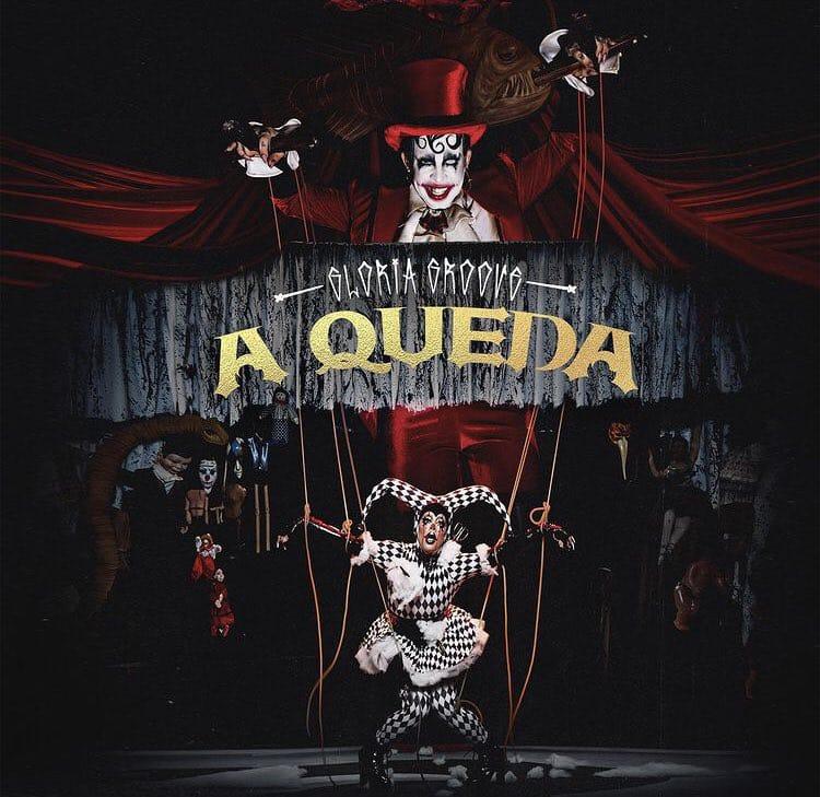 """Capa de """"A Queda"""", single de Gloria Groove - Foto: Rodolfo Magalhães"""