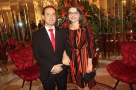 O advogado Otavio de Marchi e sua esposa, a médica endocrinologista, Ana Elisa Rebeschini de Marchi
