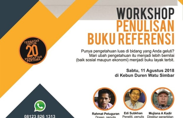 workshop penulisan buku
