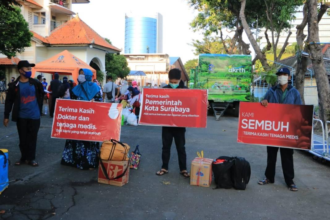 2.238 Orang Pasien Covid-19 di Surabaya Sembuh