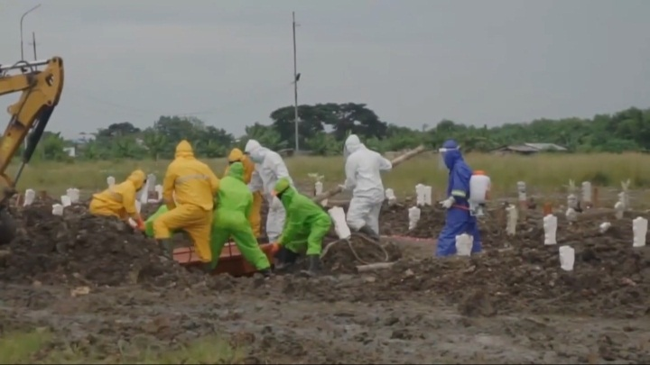 Pemkot Surabaya Tentukan Lokasi Pemakaman Covid-19 untuk Cegah Transmisi Penyakit
