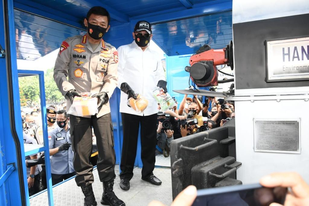 Dengar Curhat Kapolri, DPR Janji Perjuangkan Mobil Pemusnah Narkoba