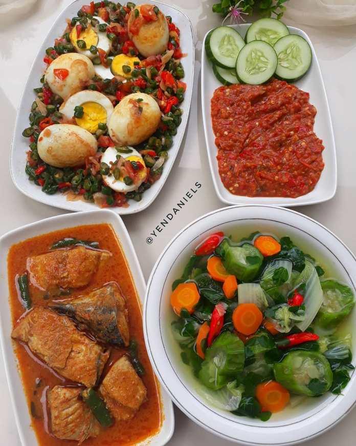 Info kuliner Menu Sehari Hari Ala @yendaniels Assalamualaikum Sayur bening gambas