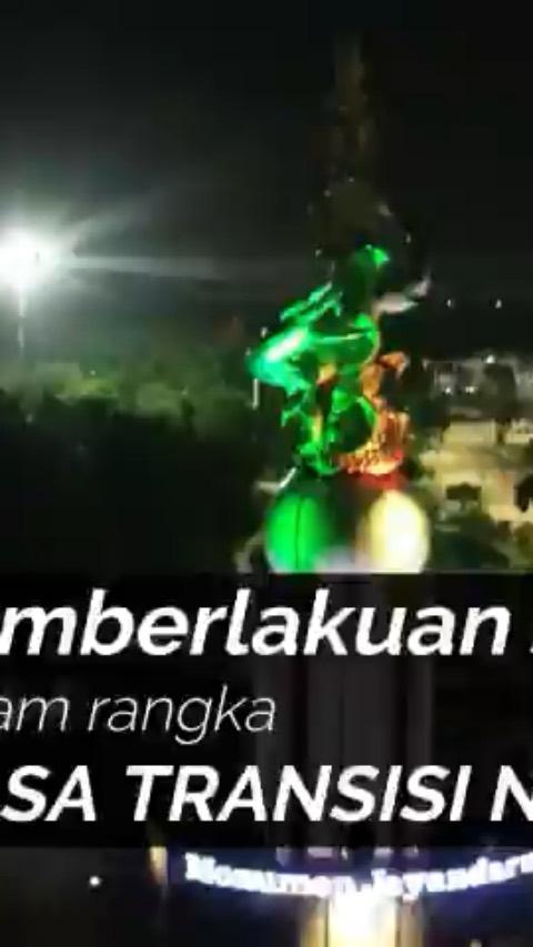Malam Wargaa darjoo mimin mau ngasih video tentang pemberlakuan jam malam dalam rangka masa tra...