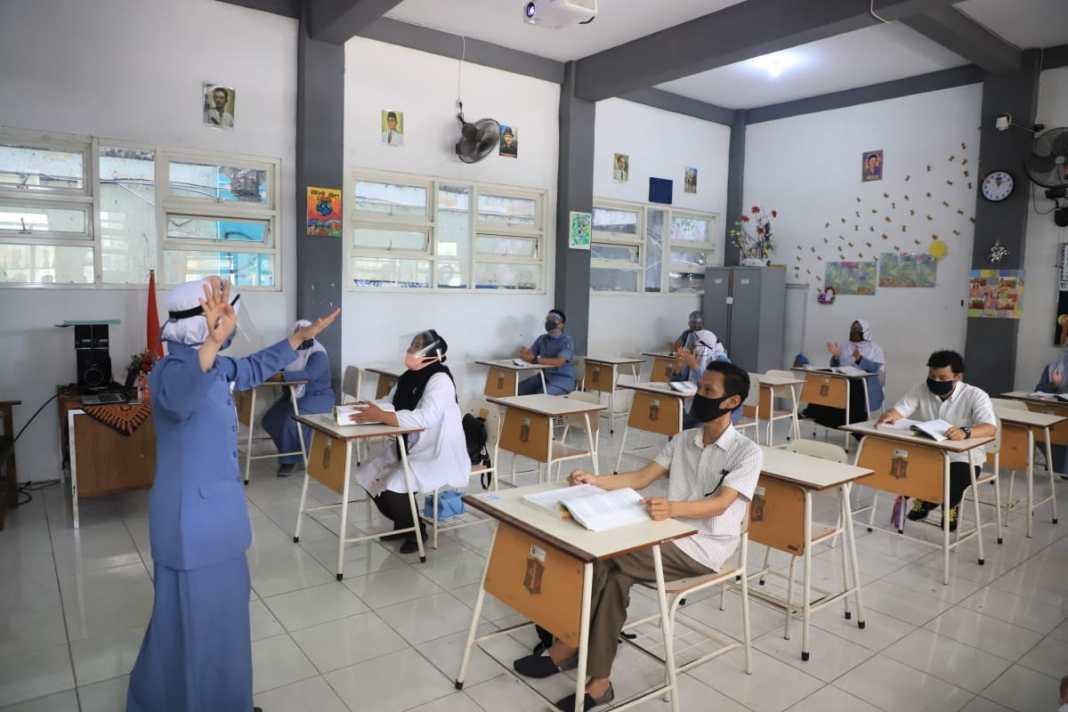 Kemendikbud dan Kemenag Apresiasi Praktik Baik Satuan Pendidikan Sambut TA Baru sesuai SKB Empat Menteri