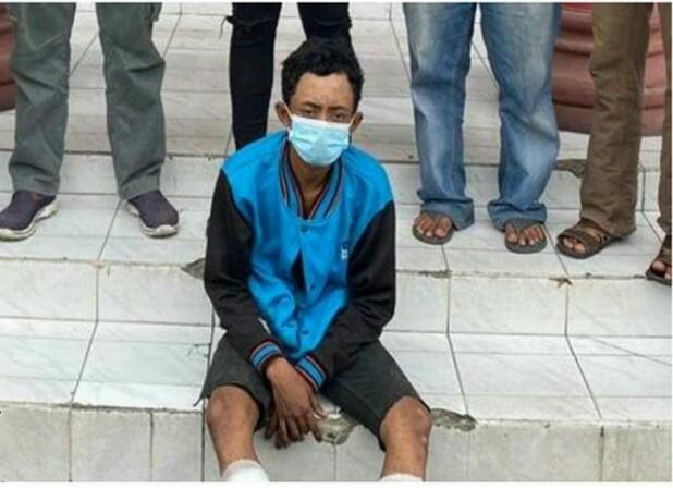 Bandit Jalanan Surabaya, Dapat Hadiah Timah Panas di Kedua Kakinya