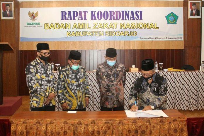 1604636784 324 Potensi Zakat di Kabupaten Sidoarjo Sangat Be