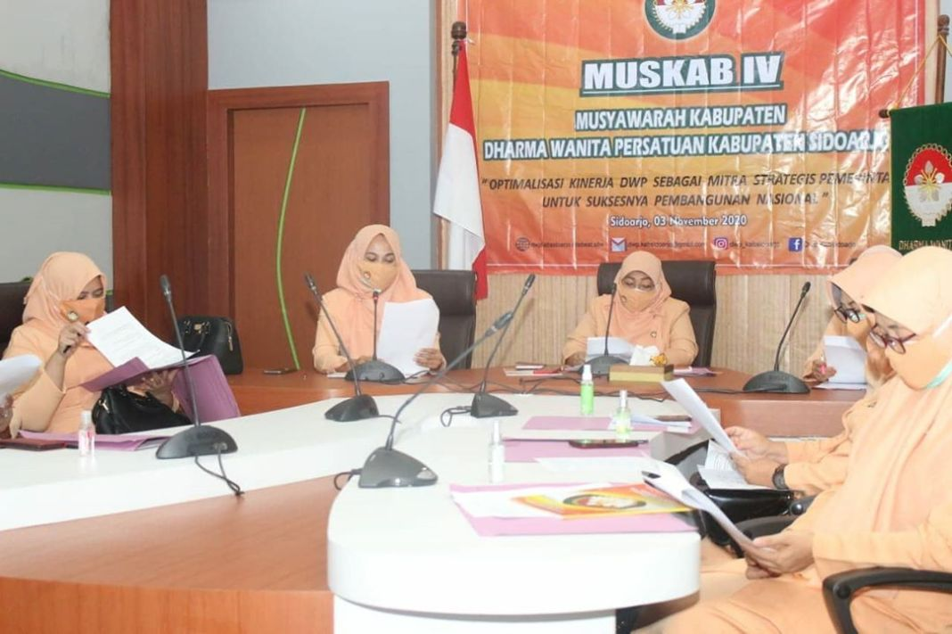 DWP Kabupaten Sidoarjo Gelar Muskab IV Secara...