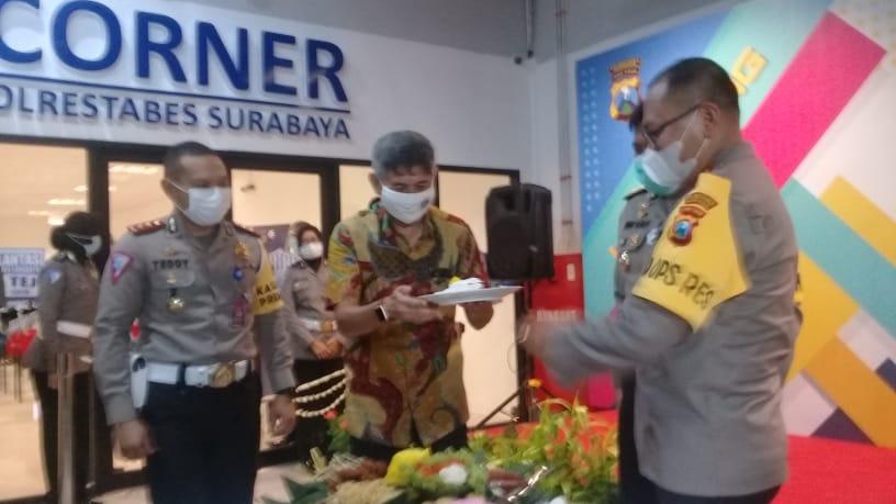 Polrestabes Surabaya, Launching Layanan Baru SIM Corner di Praxis Mall
